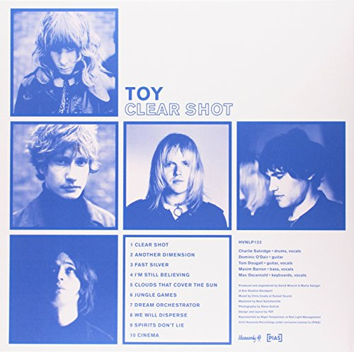 Toy - Clear Shot (Vinyl)