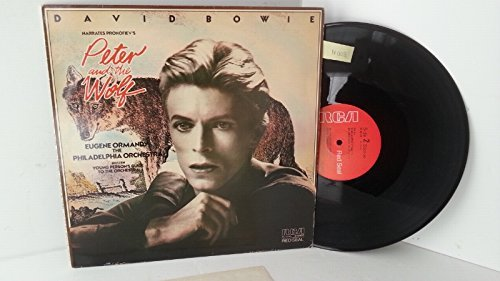 DAVID BOWIE - DAVID BOWIE NARRATES PROKOFIEV, EUGENE ORMANDY, PHILADELPHIA ORCHESTRA, BRITTEN peter and the wolf / young person's guide to the orchestra, RL 12743