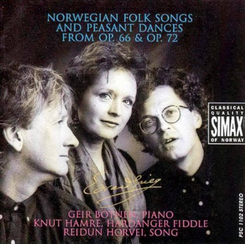 Grieg , Edvard - Norwegian Folk Songs And Peasant Dances From Op. 66 & Op. 72 (Botnen, Hamre, Horvei)