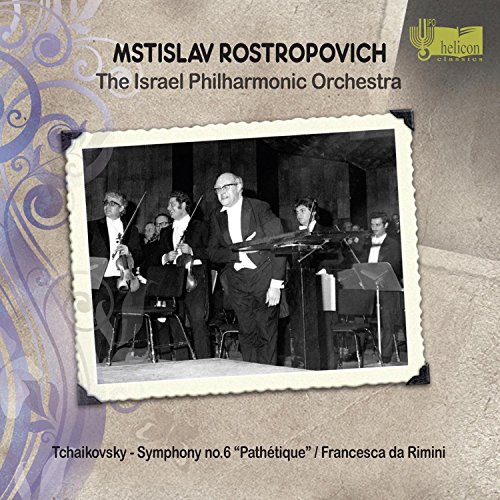 Rostropovich , Mstislav & IPO - Tchaikovsky: Symphony No. 6 'Pathetique' / Francesca Da Rimini