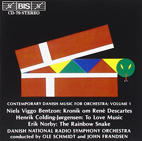 Sampler - Contemporary Danish Music For Orchestra 1: Bentzon,Colding-Jörgensen, Norby (Danish National Radio Symphony Orchestr, Schmidt, Frandsen)