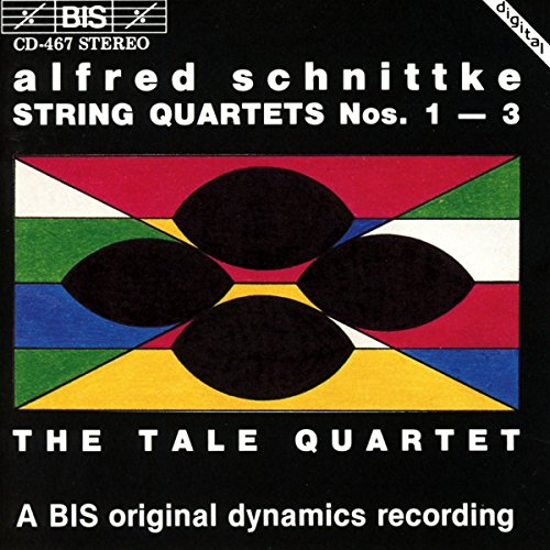 Schnittke , Alfred - String Quartets Nos. 1-3 (The Tale Quartet)