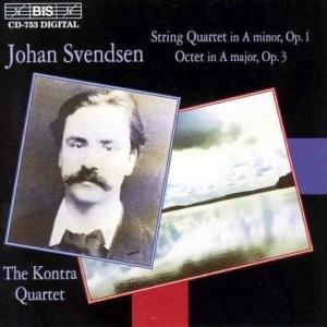 Svendsen , Johan Severin - Streichquartett, Op. 1 / Octet, Op. 3 (The Kontra Quartet)
