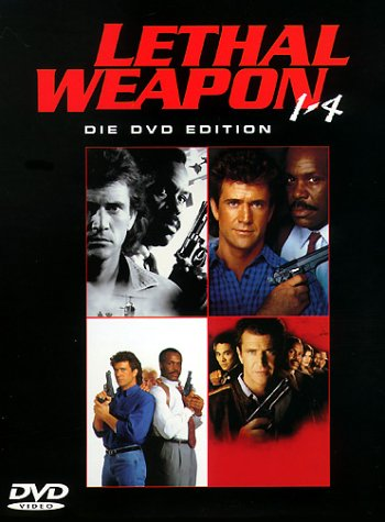 DVD - Leathal Weapon 1 - 4 (Die DVD Edition)
