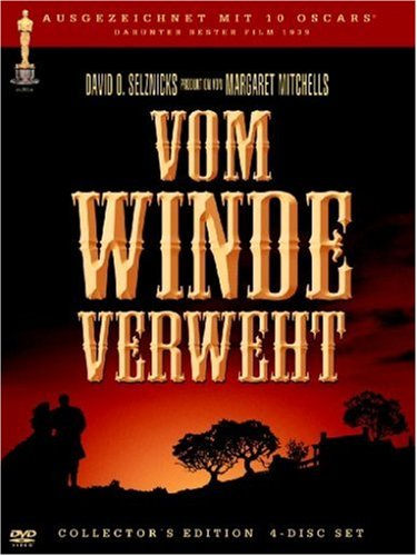 DVD - Vom Winde verweht (4Disc Collector's Edition)