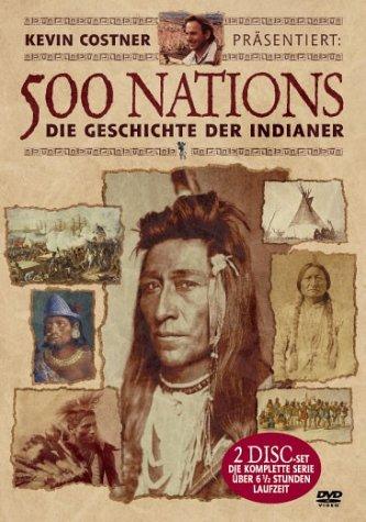 DVD - 500 Nations - Die Geschichte der Indianer