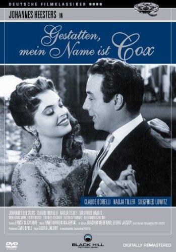 DVD - Gestatten, mein Name ist Cox (Remastered) (Deutsche Filmklassiker)