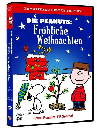 DVD - Die Peanuts - Fröhliche Weihnachten (Remastered Deluxe Edition)