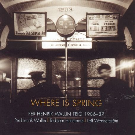 Wallin Trio , Per Henrik - Where is spring (UK-Import)