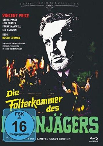 Blu-ray - Die Folterkammer des Hexenjägers (Classic Horror Collection) (2-Disc Limited Uncut Mediabook Edition)