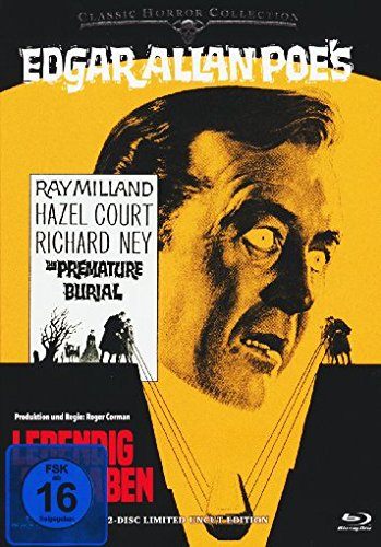 Blu-ray - Lebendig begraben (Classic Horror Collection) (2-Disc Limited Uncut Mediabook Edition)