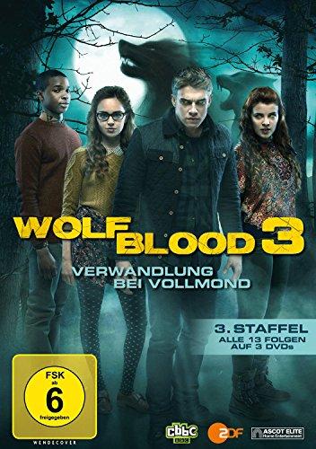 DVD - WolfBlood - Verwandlung bei Vollmond - Staffel 3