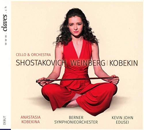 Kobekina , Anastasia - Cello & Orchestra - Shostakovich Weinberg Kobekin (Edusei)