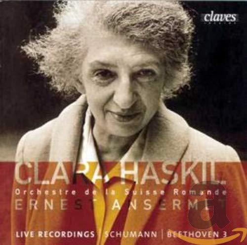 Haskil , Clara - Schumann: Piano Concerto In A Minor, Op. 54 / Beethoven: Piano Concerto No. 3 In C Minor, Op. 37 (OSR, Ansermet, Haskil)