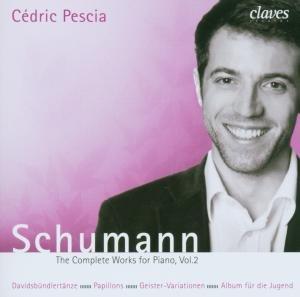 Schumann , Robert - The Complete Works for Piano 2 (Cedric Pescia)