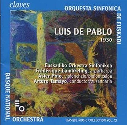 Cambreling / Polo / Euskadiko Orkestra Sinfonikoa / Tamayo - De Pablo: Danzas Secretas / Misterio: Concierto Para Violonchelo Y Orquesta