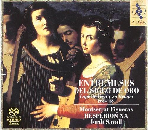 Figueras , Montserrat - Entremeses Del Siglo De Oro - Lope De Vega Y Su Tiempo 1550-1650 (Hesperion XX, Savall, Figueras) (SACD)