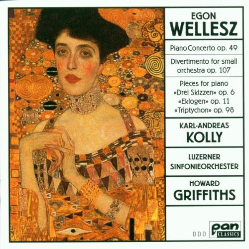 Wellesz , Egon - Piano Concerto, Op. 49 / Divertimento, Op. 107 / Pieces For Piano, Opp. 6, 11, 98 (Kolly, Griffiths)