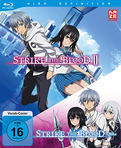 - Strike the Blood Second / Strike the Blood OVAs - Blu-Ray-Box