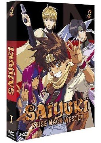 DVD - Saiyuki - Reise nach Westen 1