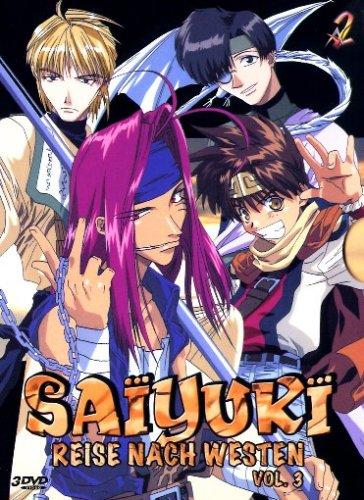 DVD - Saiyuki - Reise nach Westen 3