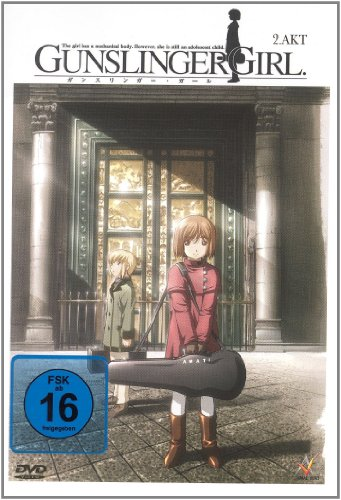 DVD - Gunslinger Girl - 2. Akt (Episode 5-7)