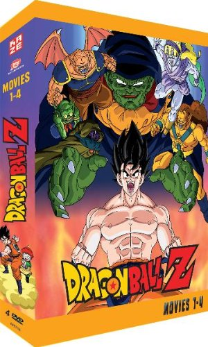 - Dragonball Z - Movies 1-4 (4 DVDs)