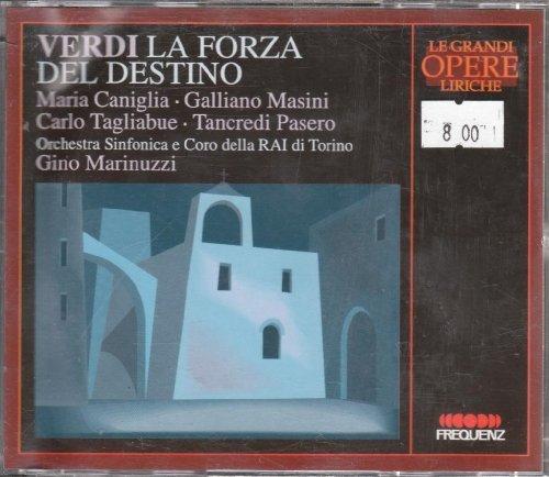 Verdi , Giuseppe - La Forza Del Destino (Di Stefano, Gencer, Protti, Siepi, Votto)