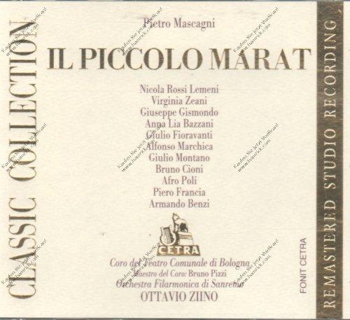 Mascagni , Pietro - Il Piccolo Marat (GA) (Pizzi, Ziino)