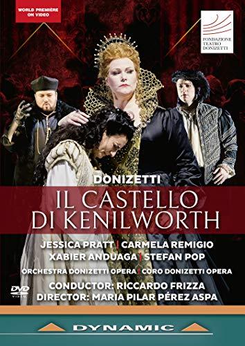 DVD - Donizetti: Il Castello di Kenilworth (Festival Donizetti 2018)