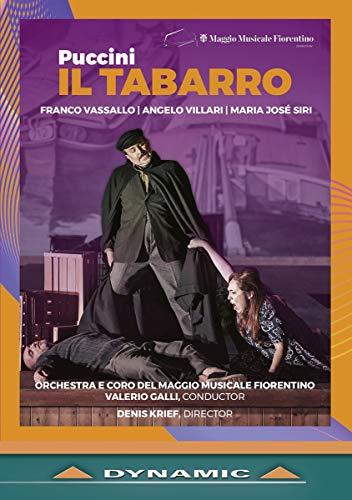 Puccini , Giacomo - Il Tabarro (Vassallo, Villari, Siri, Galli, Krief) (DVD)