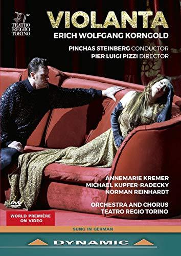 Korngold , Erich Wolfgang - Violanta (Steinberg, Pizzi, Kremer, Kupfer-Radecky, Reinhardt) (DVD)