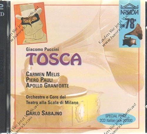 Puccini , Giacomo - Tosca (GA) (Melis, Pauli, Granforte, Sabajno)