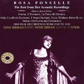 Ponselle , Rosa - The Best From Her Acoustic Recordings: Opera Arias (Remastered)