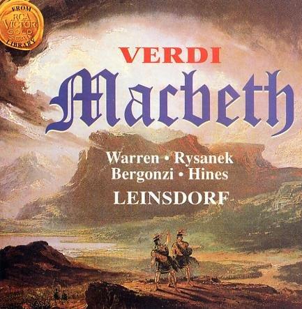 Verdi , Giuseppe - Macbeth (Leinsdorf)