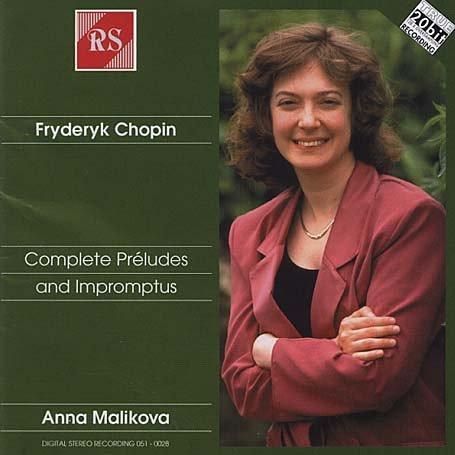 Chopin , Fryderyk - Complete Préludes and Impromtus (Anna Malikova - Piano)
