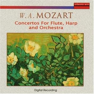 Mozart , Wolfgang Amadeus - Concertos for flute, harp and orchestra
