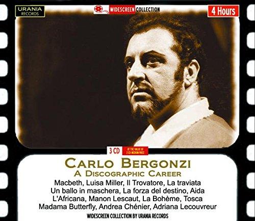 Bergonzi , Carlo - A Discographic Career