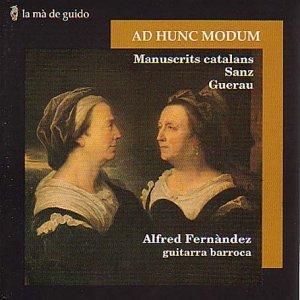 Fernàndez , Alfred - Música de manuscrits / Sanz / Guerau