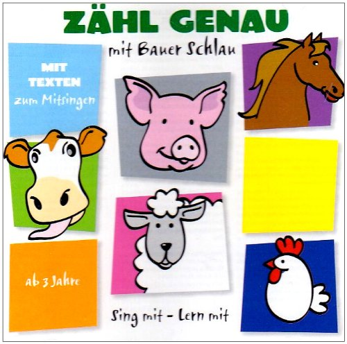 Milja , Millhoff & Kröger , Thomas - Sing mit-Lern mit Zähl Genau