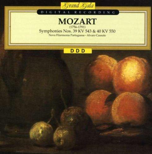 Mozart , Wolfgang Amadeus - Symphonies Nos. 39 & 40