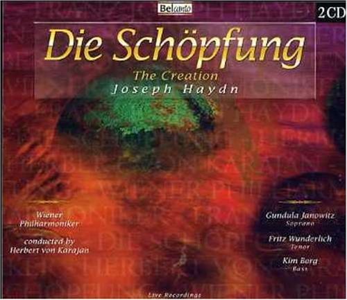 Haydn , Joseph - Die Schöpfung - The Creation (Janowitz, Wunderlich, Borg, Karajan)