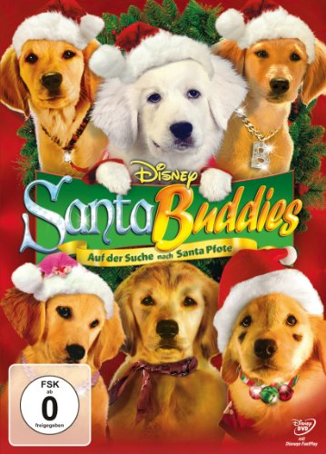 DVD - Santa Buddies - Auf der Suche nach Santa Pfote (Disney)