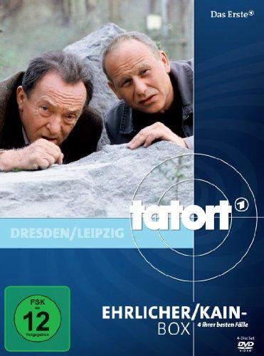DVD - Tatort: Ehrlicher / Kain-Box (4 DVDs)