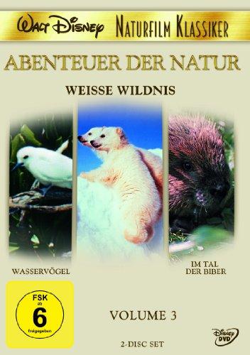 DVD - Weisse Wildnis / Wasservögel / Im Tal der Biber (Abenteuer der Natur 3) (Disney)