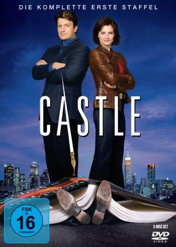 DVD - Castle - Die komplette erste Staffel [3 DVDs]