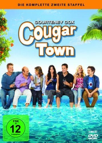 DVD - Cougar Town - Die komplette zweite Staffel [4 DVDs]