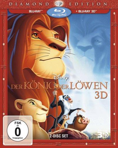 Blu-ray - Der König der Löwen 3D (Diamond Edition)