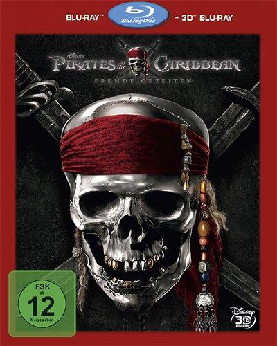 Blu-ray - Pirates of the Caribbean - Fremde Gezeiten (3D Blu-ray   2D Blu-ray)