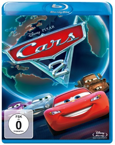 Blu-ray - Cars 2 (Pixar) (Disney)
